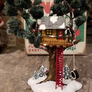 Other - Department 56 Snow Village Treetop Treehouse